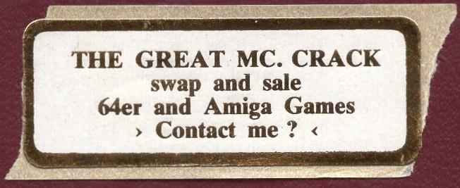 121f095de10 Ancient C64 Amiga Pirate Materials