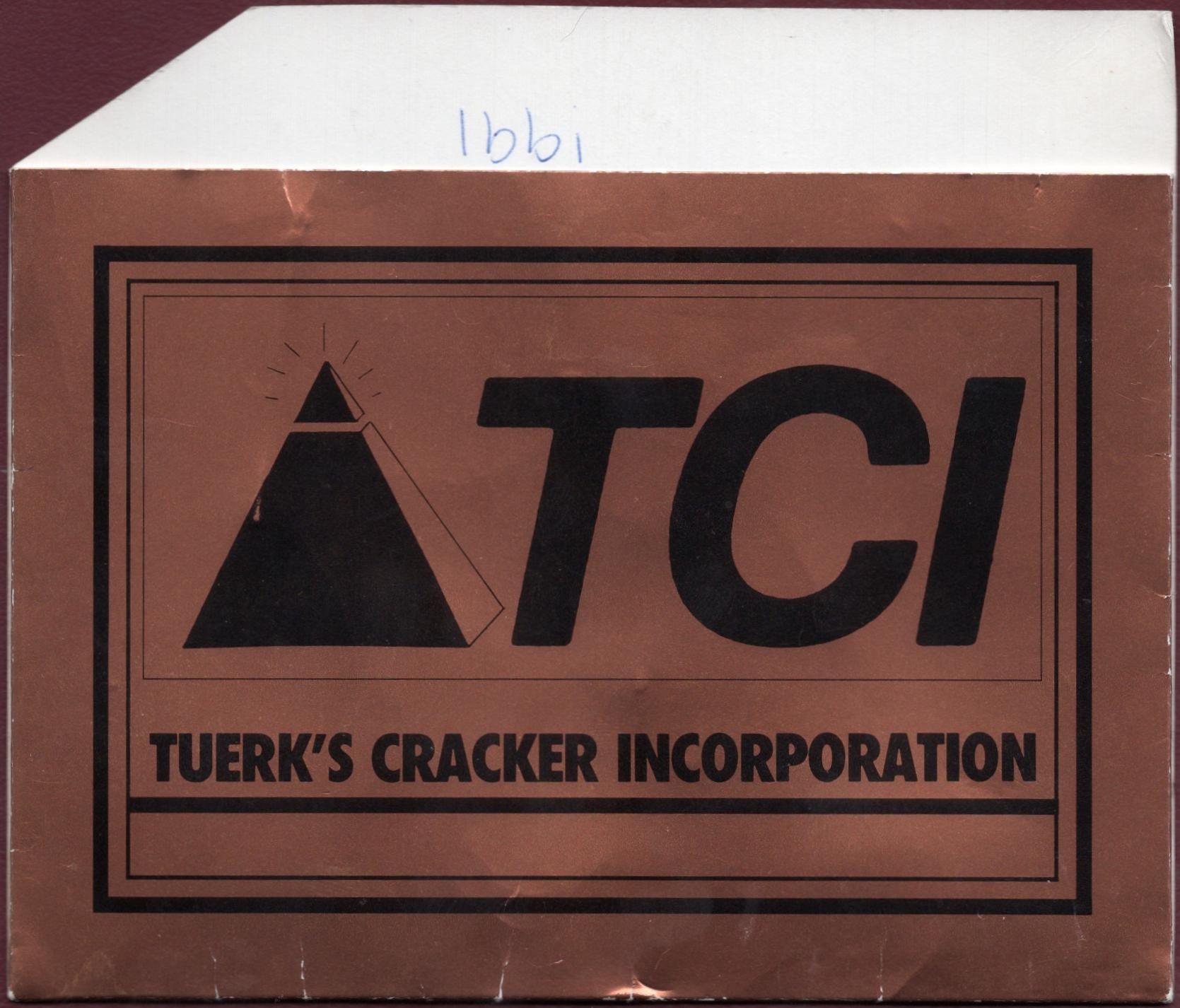 e884a58f5fe Tuerk s Cracker Incorporation